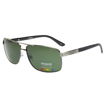 Polaroid 寶麗萊-偏光太陽眼鏡(銀色)