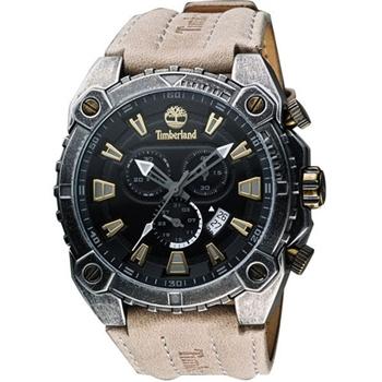 Timberland三眼計時腕錶灰TBL.14113JSQS/02
