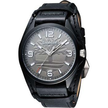 Timberland都會時尚腕錶-黑TBL.14117JSB/61