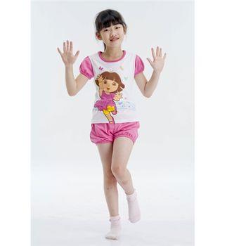 Dora兒童居家圓領衫套裝