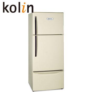 《買就送》【歌林】481L三門風扇式變頻電冰箱KR-348V01