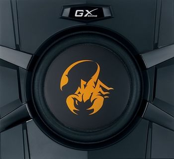 GX Gaming SW-G2.1 3000 金燦飛蠍重低音喇叭