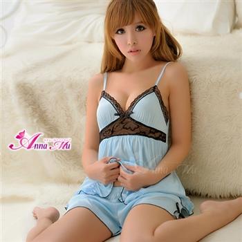 薇珍妮 ANNA MU 微美氛圍 二件式柔緞睡衣