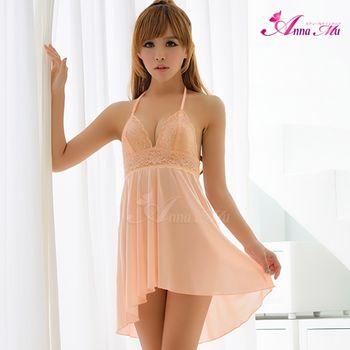 薇珍妮 ANNA MU 溫暖氛圍 繞頸柔緞睡衣