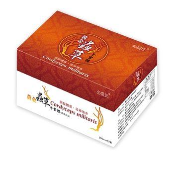 草本之家 黃金北蟲草子實體膠囊x1盒(90粒/盒)