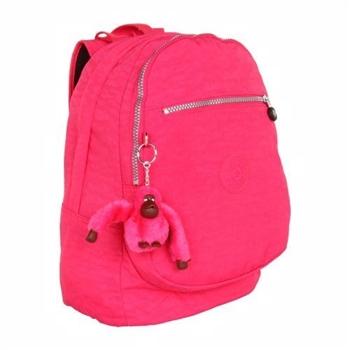Kipling U.S.A.時尚挑戰者桃紅色後背包