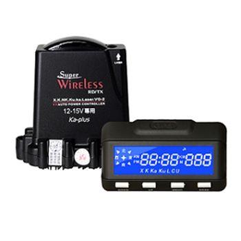 【神隼】GPS 998 分離式全頻雷達測速器