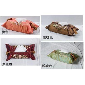 【凱堡】京華刺繡面紙盒套-1入