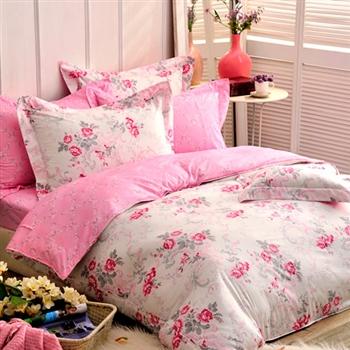 【義大利La Belle】浪漫香氣 天絲雙人舖棉兩用被6x7尺