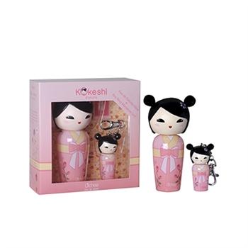 Kokeshi Litchee愛情娃娃女性香水禮盒50ml+鑰匙圈