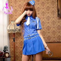 Ayoka正妹女警五件式角色扮演服