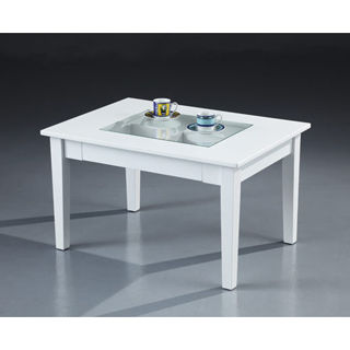 【好傢俱】六宮格長方玻璃桌-2色