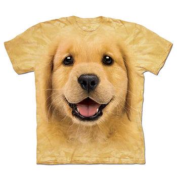 【摩達客】預購-The Mountain 小黃金獵犬 T恤(男)