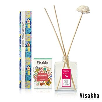 【Visakha】桃花朵朵Peach Blossom 水竹精油3入