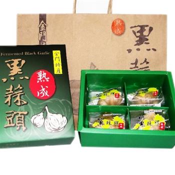 金門 黑蒜頭禮盒/4顆入(XL)6盒團購優惠組