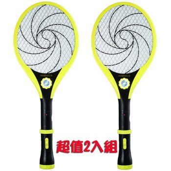 【日象】太極旋風充電式捕蚊拍 ZOM-3700(2入組)-集