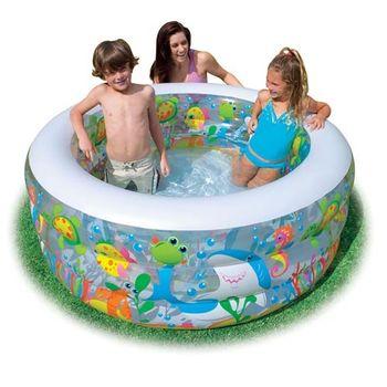 【INTEX】金魚嬰兒充氣海洋水池兒童游泳池