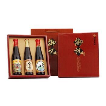 【丸莊醬油】御禮禮盒6入組(精製蠔油+金品油膏+竹級油清/盒 )