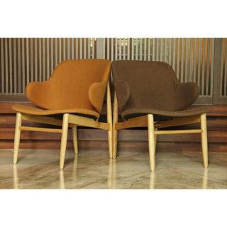 【好傢俱】悠活布質單人造型沙發椅-兩色