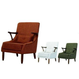【好傢俱】艾菲爾休閒布沙發椅-四色