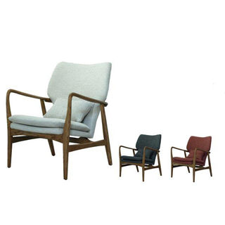 【好傢俱】派爾單人布質休閒沙發椅-三色