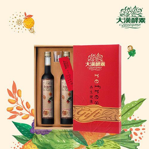 【大漢酵素】彩色人生Ⅰ禮盒(附精緻提袋)