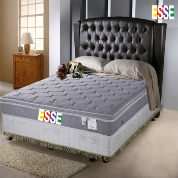 【ESSE御璽名床】 釋壓記憶三線加高獨立筒床墊-單人3.5尺
