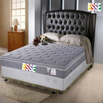 【ESSE御璽名床】 釋壓記憶三線加高獨立筒床墊-雙人5尺