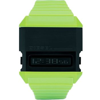 DIESEL 科技玩家電子腕錶-綠 DZ7197