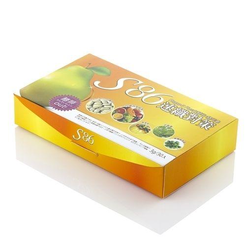 S86 速纖對策-西洋梨型適用5盒贈夜晚纖活型4包