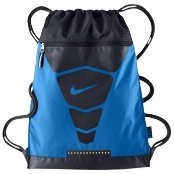 【Nike】2014魅力蒸汽Vapor健身藍色運動背袋