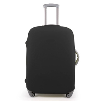【PUSH!】高雅黑行李箱彈力保護防塵套-24吋