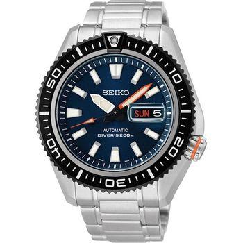 SEIKO Mechanical機械腕錶-藍 4R36-02Z0B