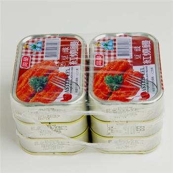 《同榮》豆豉紅燒鰻 1箱48入 (100g/易開罐)