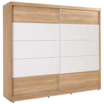 【時尚屋】[C]羅德尼7尺拉門衣櫥083-1