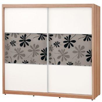 【時尚屋】[C]妮克絲7尺拉門衣櫥096-1