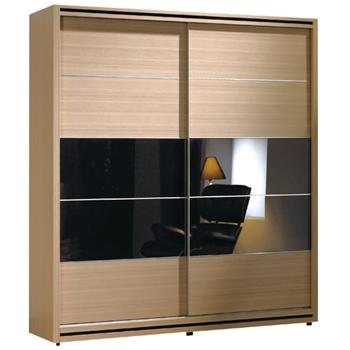 【時尚屋】[C]威爾斯5.2尺拉門衣櫥097-11