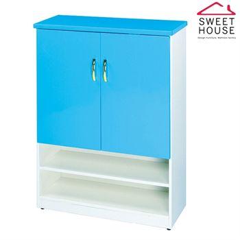 【甜美家】防水防潮防霉希臘風情鞋櫃-8色可選