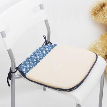 【Embrace英柏絲】蘭亭雅集系列單人 餐椅墊 -1入