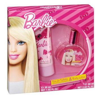 Barbie 時尚芭比淡香水禮盒(淡香水30ml/身體乳60ml) 贈Disney噴霧*1(隨機款)
