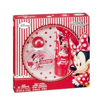 Disney 迪士尼甜心米妮 女性淡香水禮盒(香水+身體乳)贈Disney噴霧*1(隨機款)