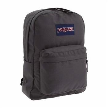 JanSport 2014時尚方邊簡緻銳黑灰色後背包