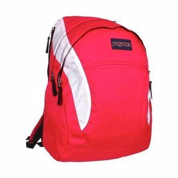 JanSport 2014時尚品味芥末粉紅色後背包