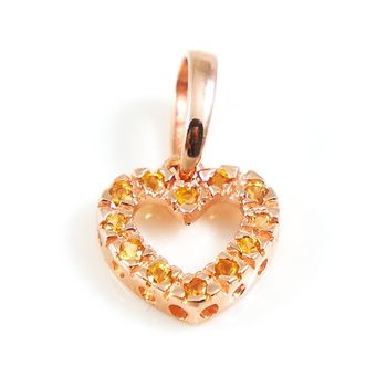 Vins時尚創意珠飾手鍊-純銀玫金黃水晶