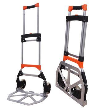 輕巧折疊式鐵管鋁合金手推車/行李購物推車