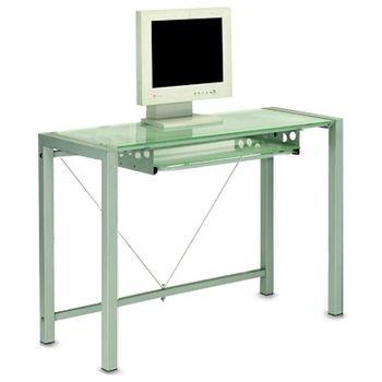 【COLOR】提雅強化玻璃電腦桌(8mm厚)