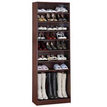 【Hopma】新胡桃木色十層鞋櫃