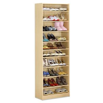 【Hopma】新白橡木色十層鞋櫃