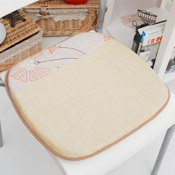 【Embrace英柏絲】蒲公英仿草系列單人餐椅墊-1入