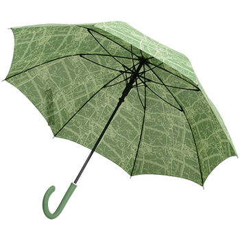 【SC life】米蘭地圖自動直傘-綠色